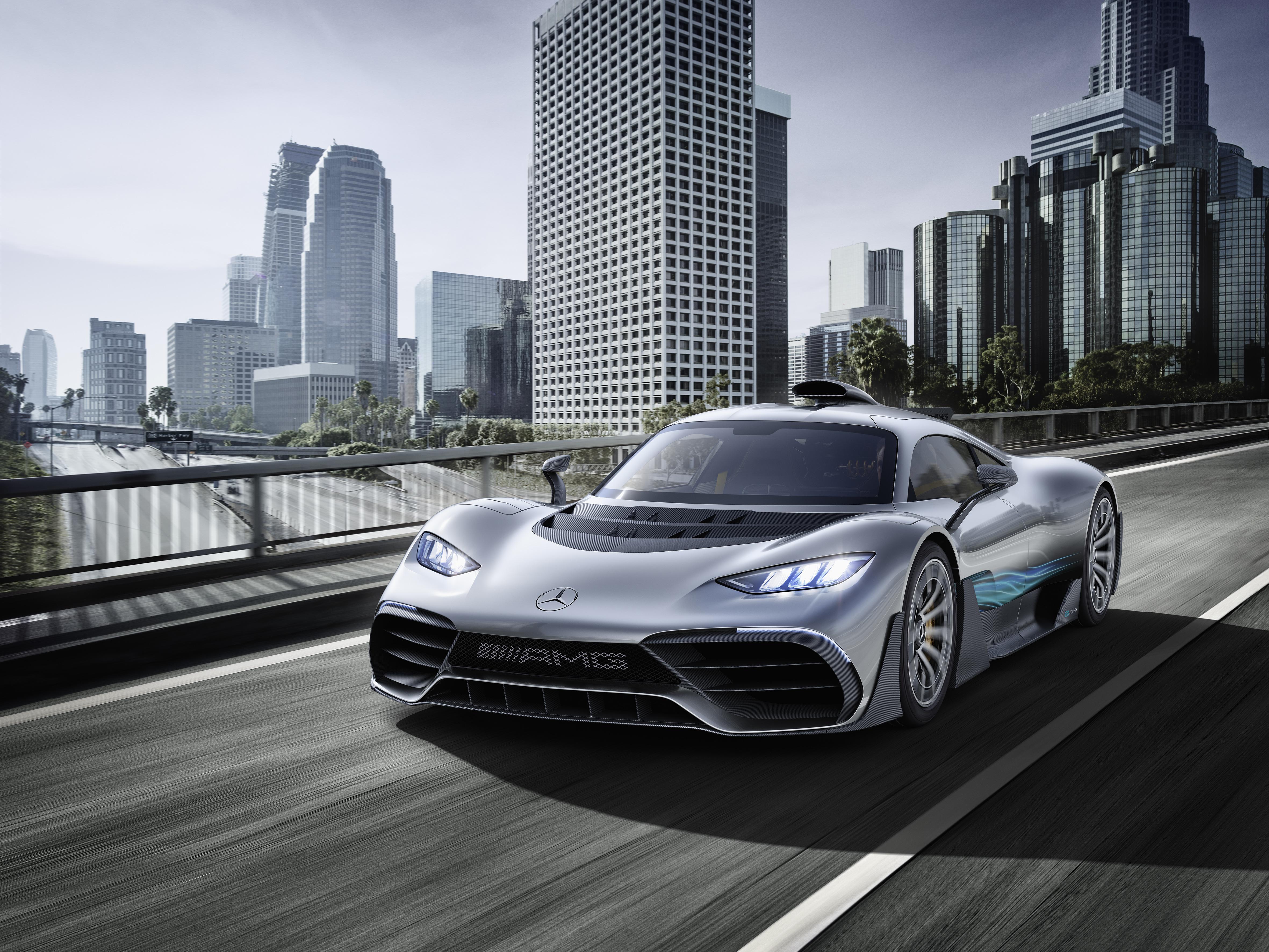 Ներկայացվել է Mercedes-AMG Project ONE հիպերմեքենան