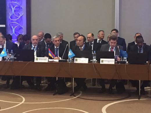 Վահան Մարտիրոսյանն աշխատանքային այցով Մինսկում է