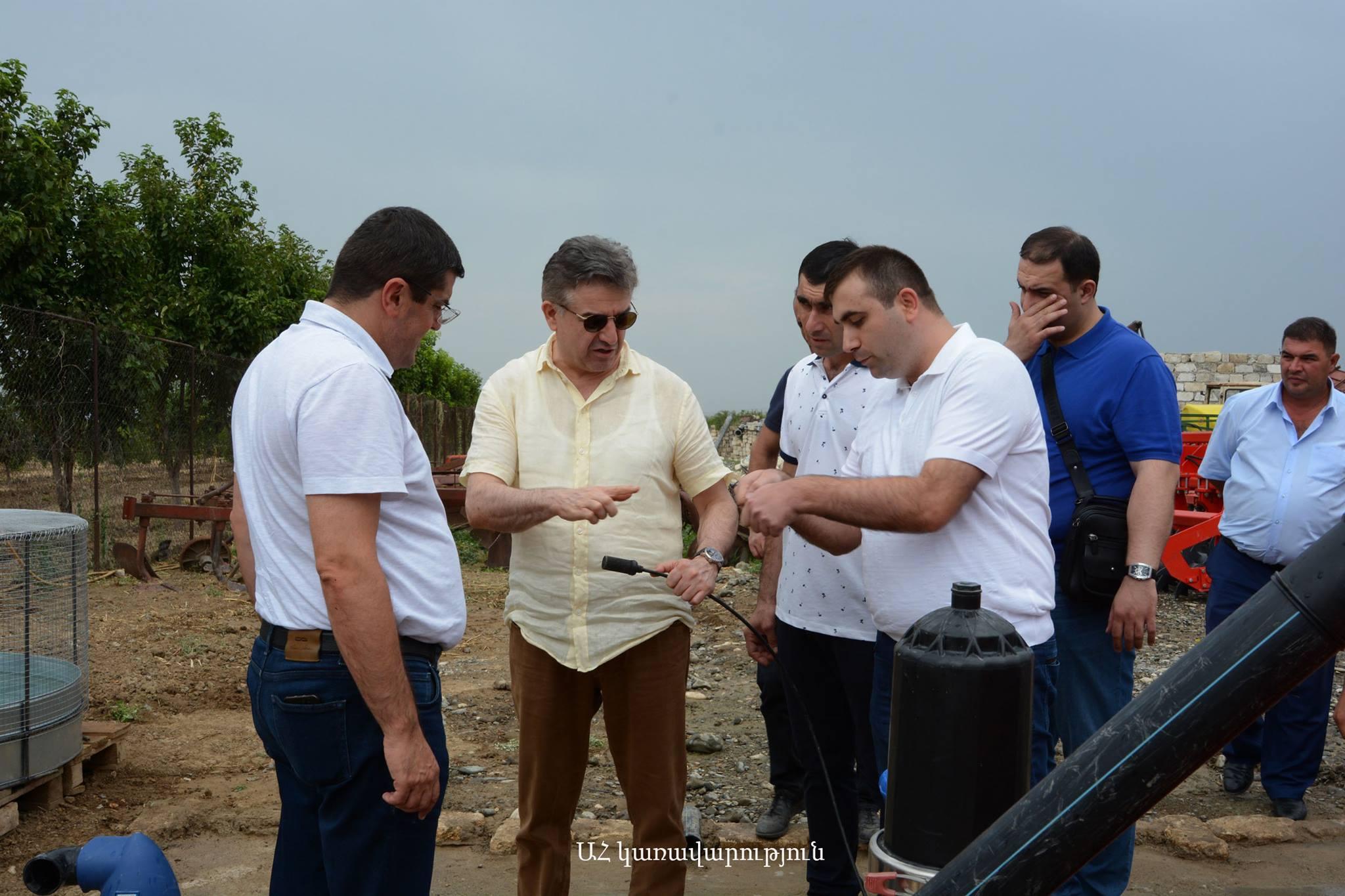 Հայաստանի և Արցախի վարչապետները ծանոթացել են Թալիշի վերականգնման աշխատանքներին