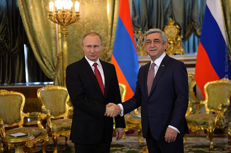 Սերժ Սարգսյան. հայ-ռուսական հարաբերությունները գտնվում են ամենաբարձր մակարդակի վրա