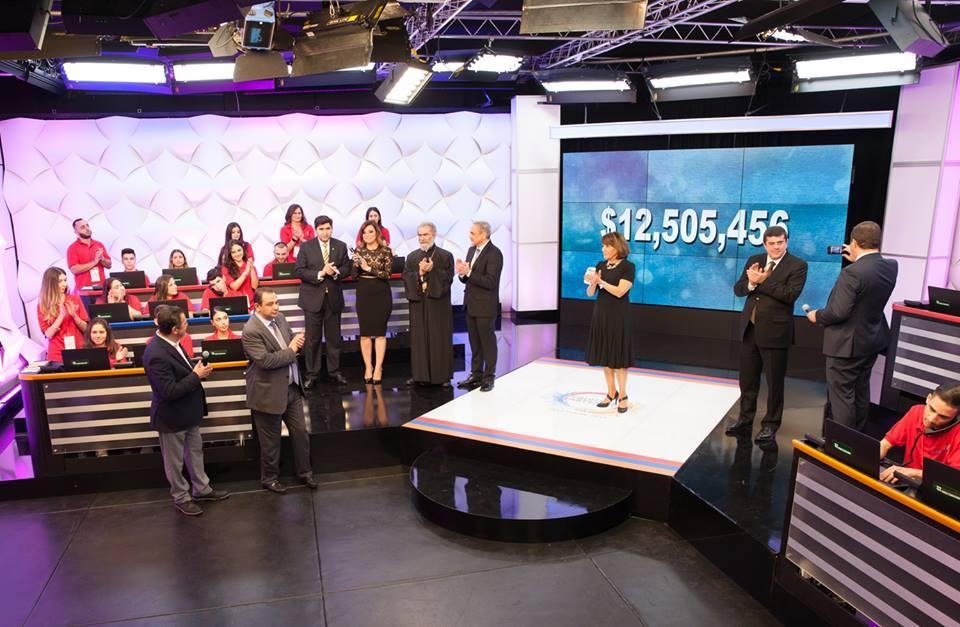 Հայաստան Համահայկական Հիմնադրամի 2017թ. հեռուստամարաթոնը հավաքագրեց 12.5 մլն դոլար