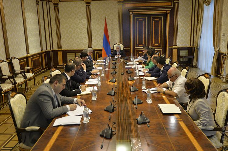 Նախագահի մոտ տեղի է ունեցել խորհրդակցություն՝ նվիրված Հայաստան-սփյուռք վեցերորդ համաժողովի նախապատրաստմանը