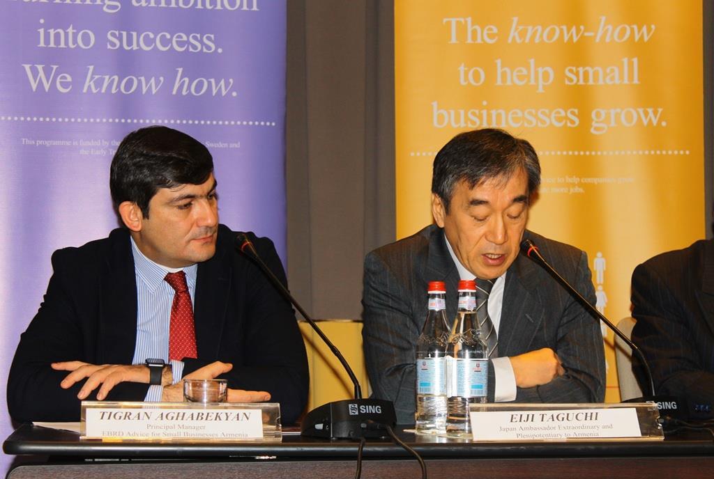 ՎԶԵԲ.  Ճապոնիայի կառավարության հետ համատեղ աջակցություն Հայաստանում կապիտալի շուկայի զարգացմանը և ՓՄՁ-ներին