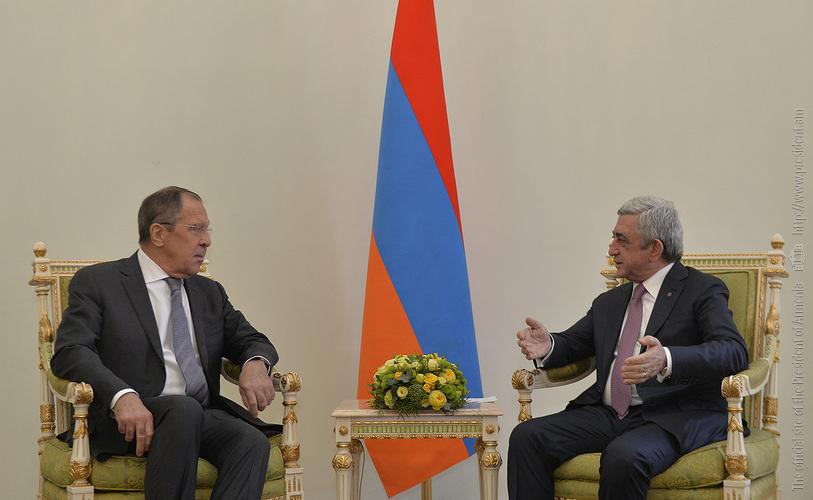 Նախագահն ընդունել է ՌԴ արտաքին գործերի նախարար Սերգեյ Լավրովին