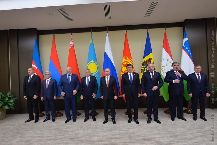 Սերժ Սարգսյանը մասնակցել է ԱՊՀ մասնակից պետությունների ղեկավարների ոչ պաշտոնական հանդիպմանը