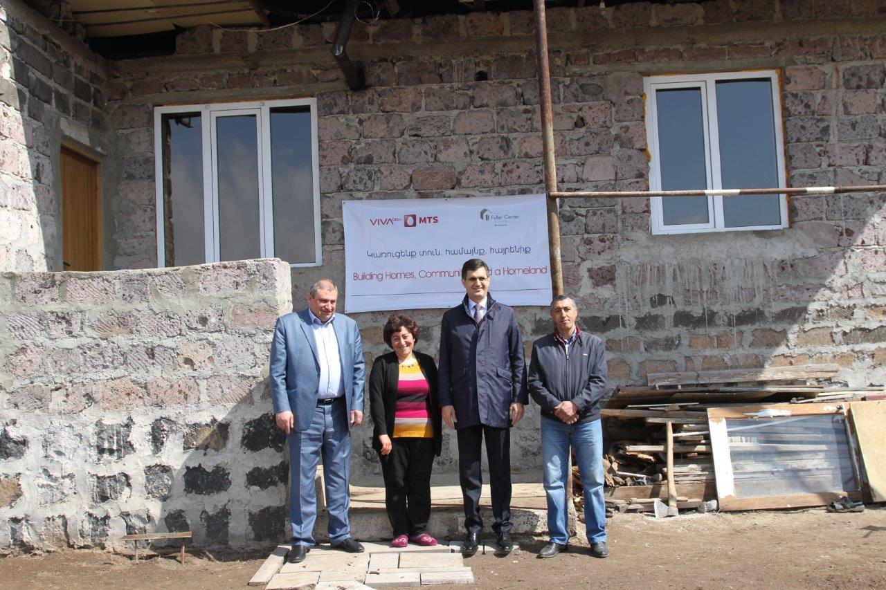 Վիվասել-ՄՏՍ. Հինգ տարում լուծվել է 135 ընտանիքի բնակարանային խնդիր