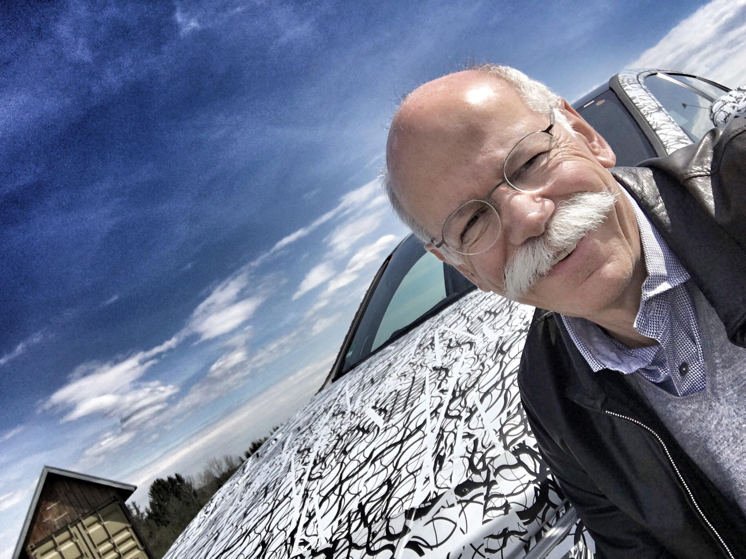 Mercedes-Benz-ի ղեկավարը մասնակցել է A դասի հեչբեքի փորձարկումներին