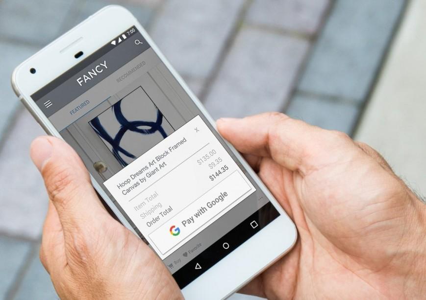 Google-ը գործարկել է Pay with Google վճարային համակարգը