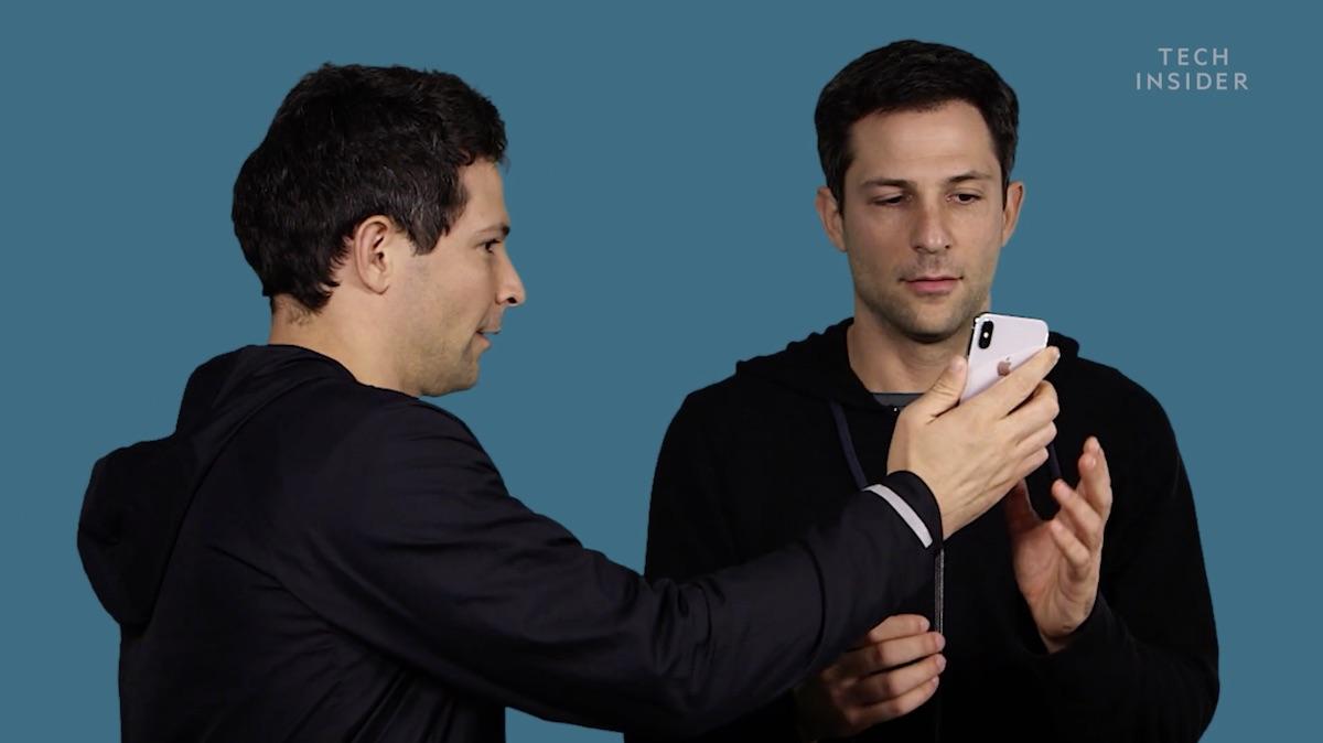 iPhone X-ի Face ID համակարգը փորձարկվել է երկվորյակների վրա