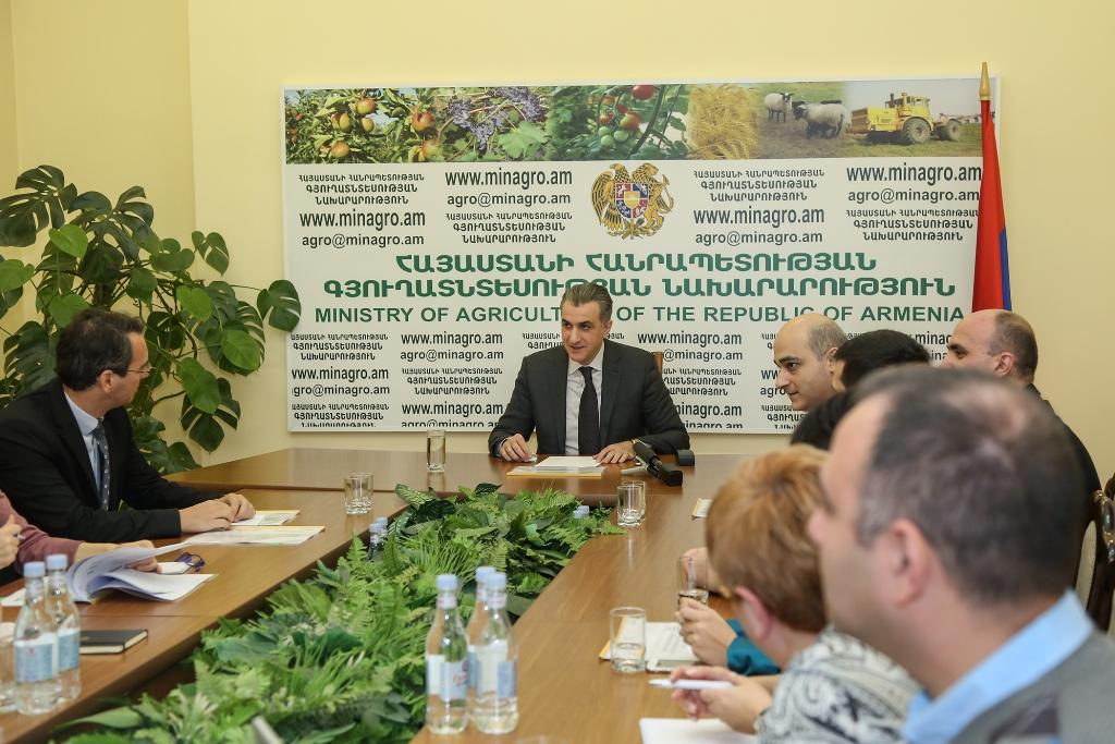 Ներկայացվել է Հայաստանում գյուղատնտեսական կենդանիների նույնականացման և համարակալման համակարգի ներդրման ծրագիրը
