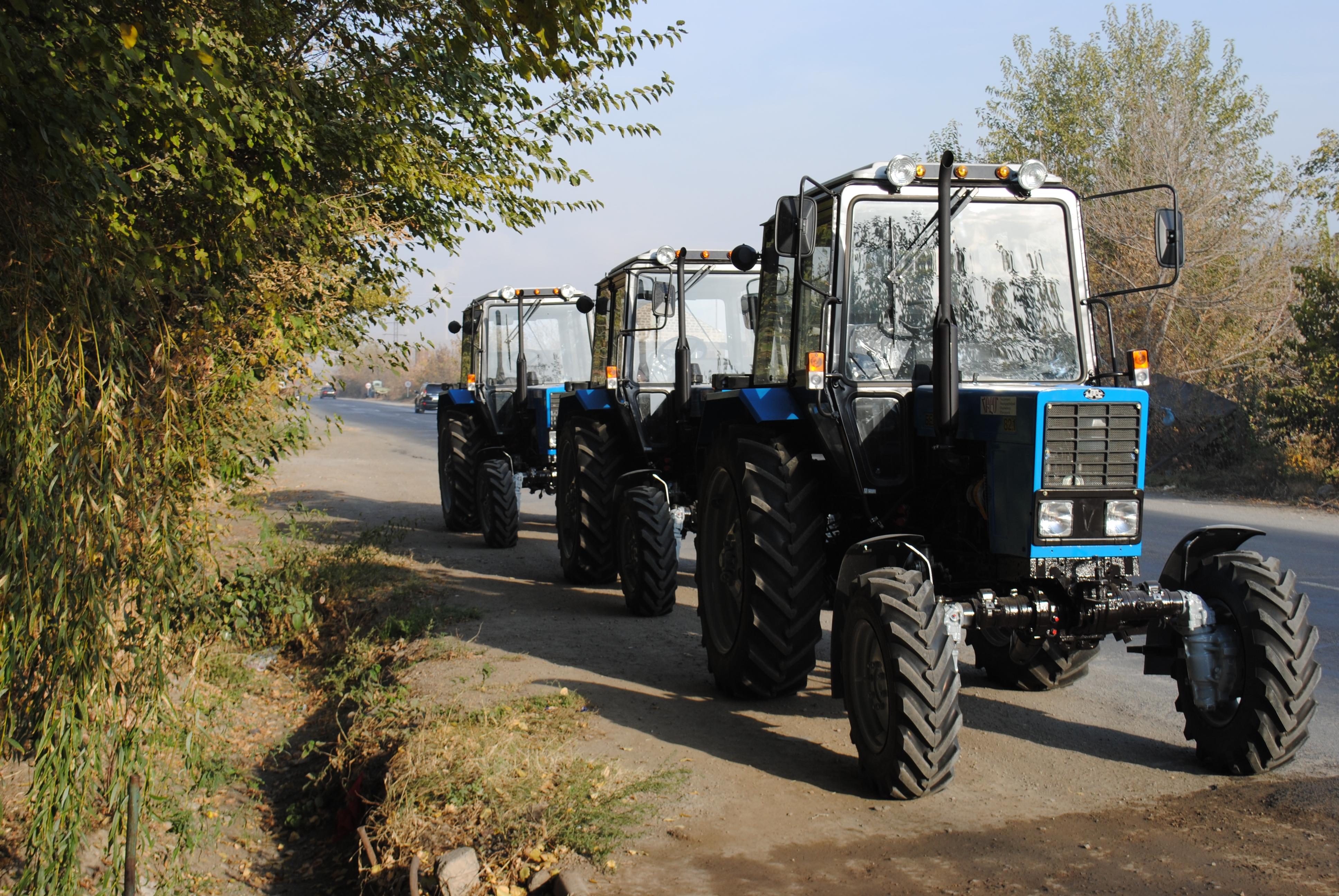 Հայաստանում լիզինգային ծրագրով իրացվելու է 2.2 միլիարդ դրամի գյուղտեխնիկա