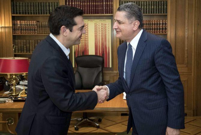 Տիգրան Սարգսյանը և Ալեքսիս Ցիպրասը քննարկել են ԵՄ-ԵԱՏՄ համագործակցությունը