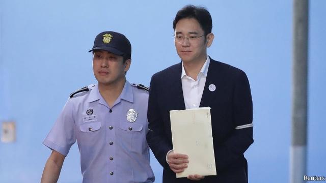 Samsung-ի ղեկավարը դատապարտվեց 5 տարվա ազատազրկման