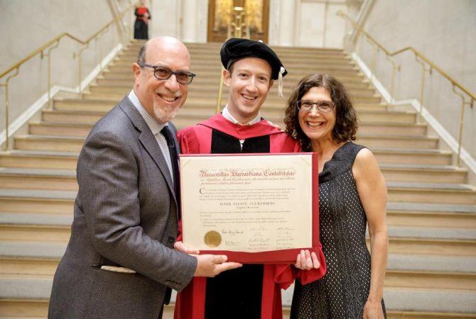 Մարկ Ցուկերբերգը վերջապես ավարտեց Հարվարդի համալսարանը