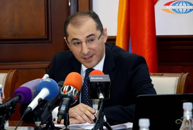 Վարդան Արամյան. 2017թ. հունվար-մարտին Հայաստանի ՀՆԱ-ն աճել է 6.5%-ով