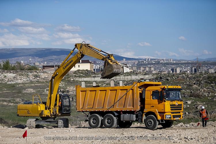 Մեկնարկել է Դավթաշեն-Աշտարակի խճուղի 5.4կմ երկարությամբ նոր ճանապարհի կառուցումը
