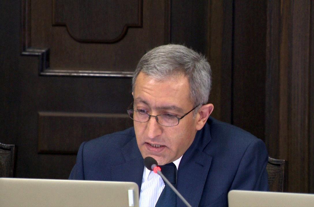 ՀՀ էներգետիկ ենթակառուցվածքների և բնական պաշարների նախարար Աշոտ Մանուկյանը հրաժարական է տվել