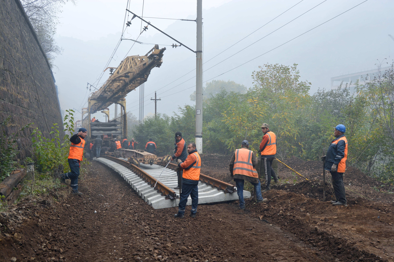 Ավարտվել է Հայկական ատոմակայան տանող երկաթուղային գծերի վերանորոգումը