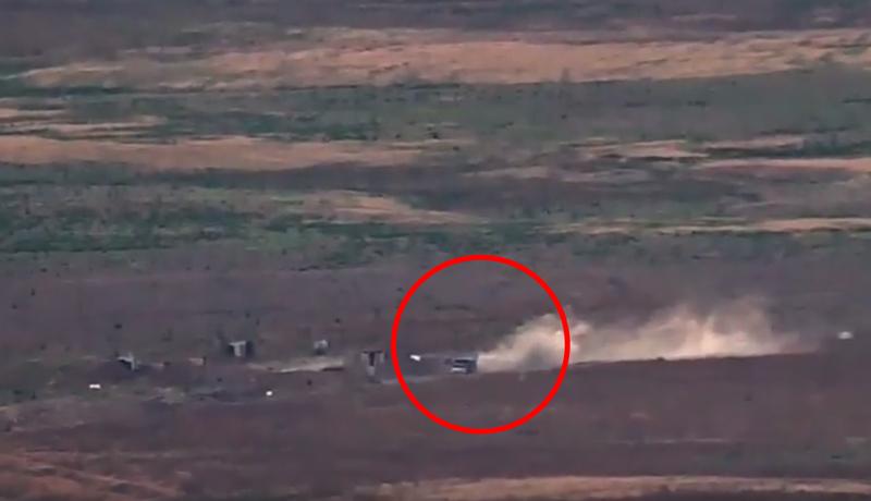 Ադրբեջանական հերթական կրակակետի վերացումը. տեսանյութ