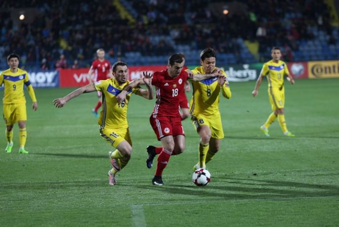 Հայաստանը 2։0 հաշվով հաղթեց Ղազախստանին. Գոլերի հեղինակներն են Մխիթարյանը և Օզբիլիսը - տեսանյութ