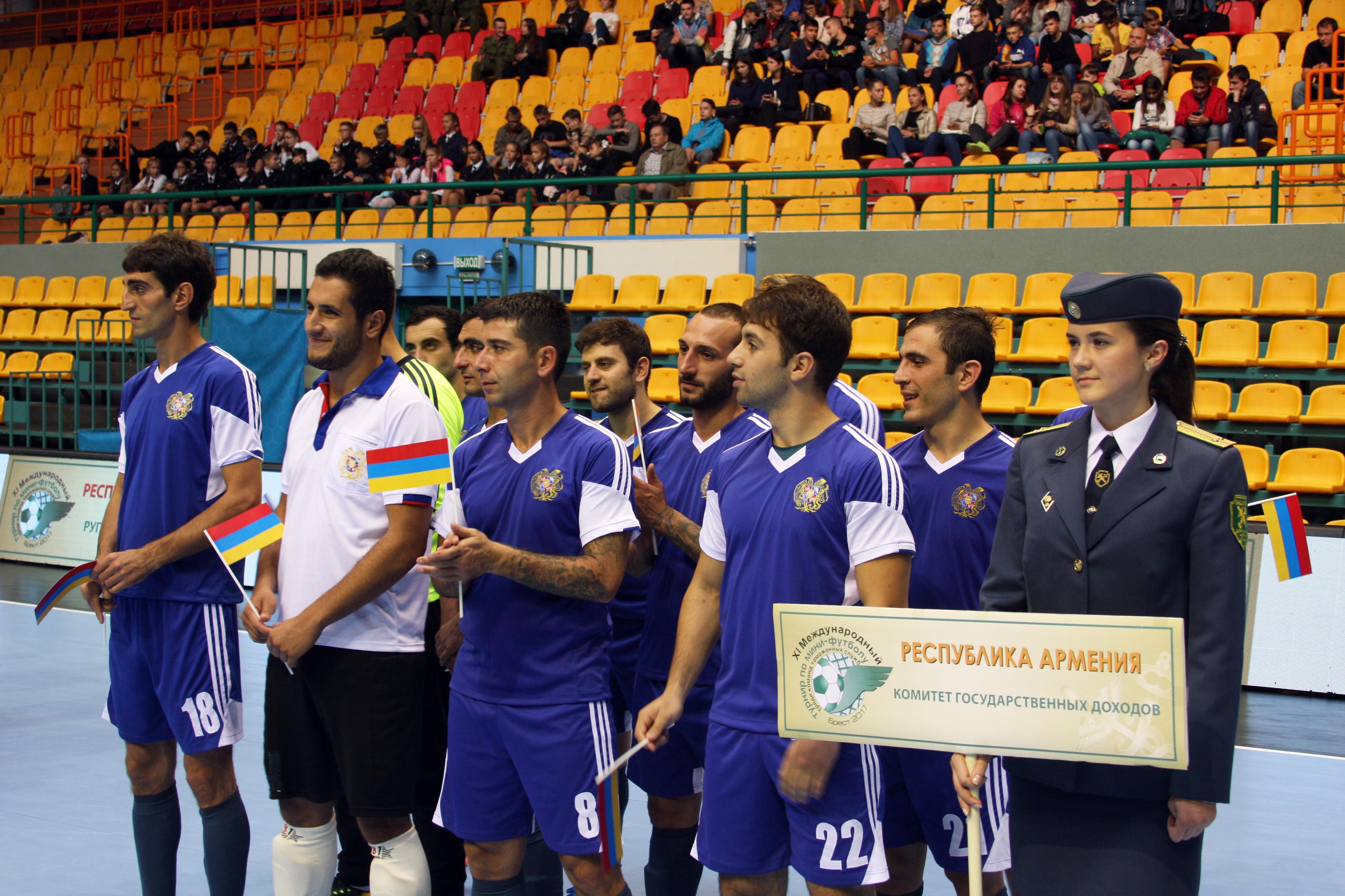 ՊԵԿ. Հայ մաքսավորները հաղթել են մինի-ֆուտբոլի միջազգային մրցաշարում