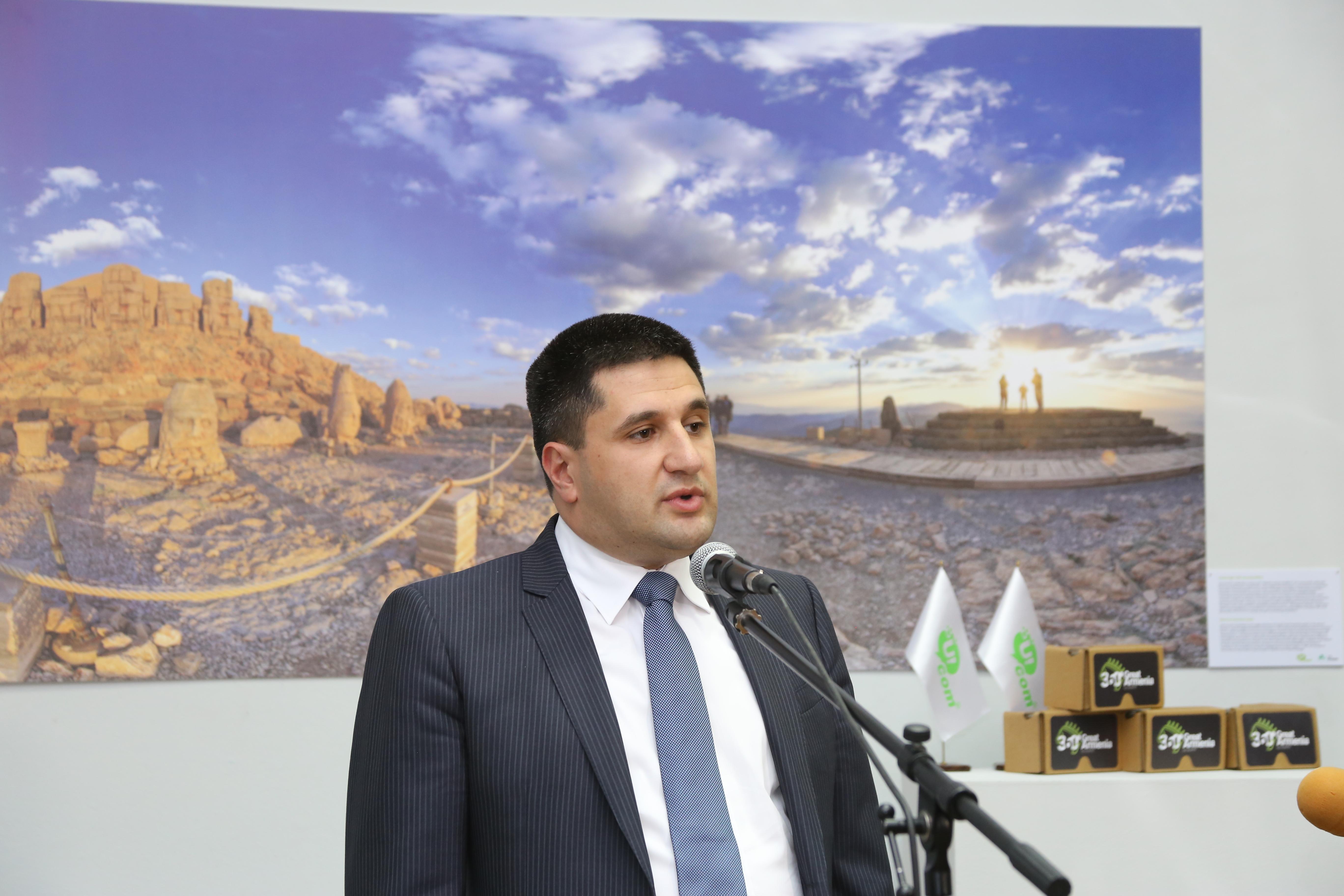 Ucom. Հայաստանի ազգային պատկերասրահում մեկնարկել է «360° Մեծ Հայք» նախագծի ցուցադրությունը