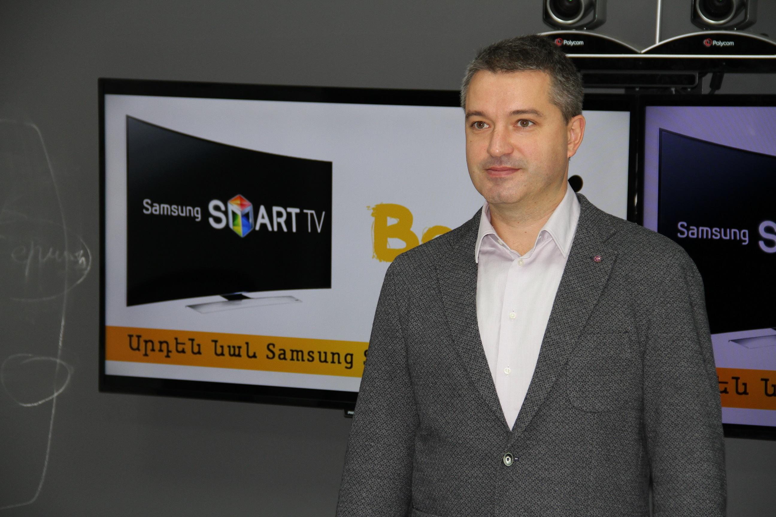 Beeline. BeeTV-ն արդեն հասանելի է Samsung սմարթ հեռուստացույցներով