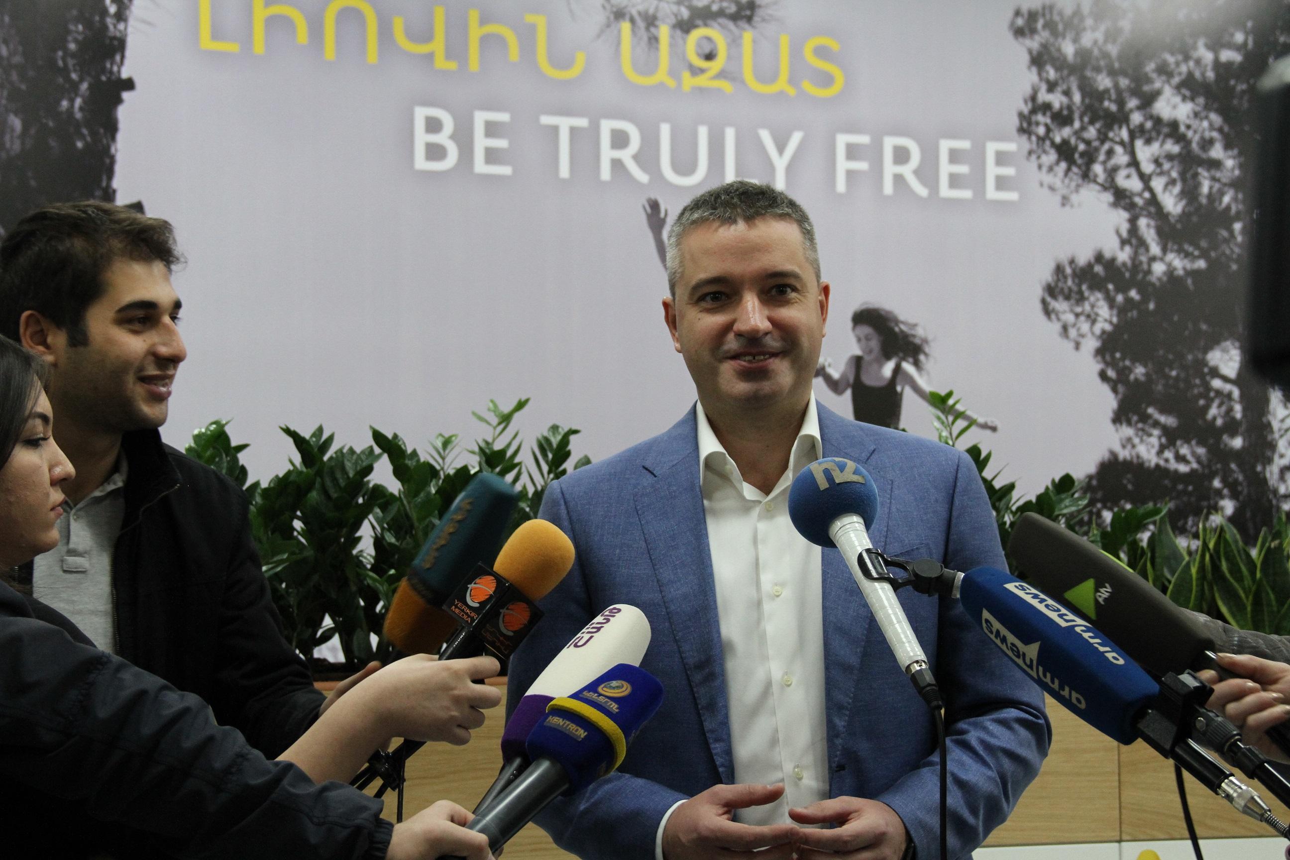 Beeline. ՎԵՈՆ խմբի բարձրաստիճան ղեկավարները հավաքվել են Երևանում