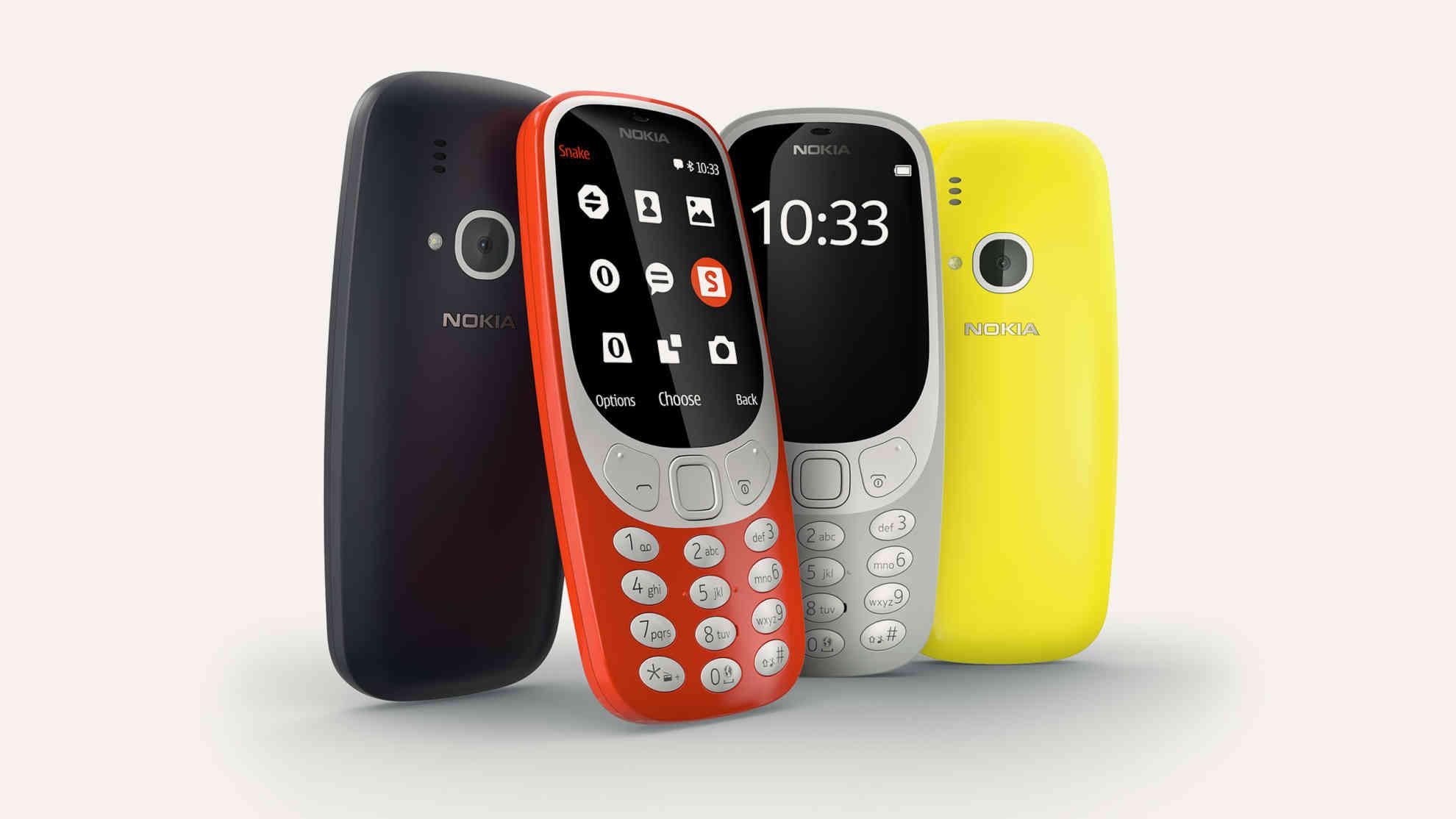 Պաշտոնապես ներկայացվել են նոր Nokia սմարթֆոնները և լեգենդար 3310 մոդելի նորացված տարբերակը