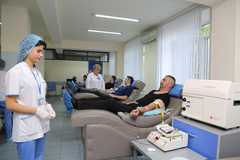 Ռոստելեկոմի աշխատակիցները մասնակցեցին արյունատվության ակցիային
