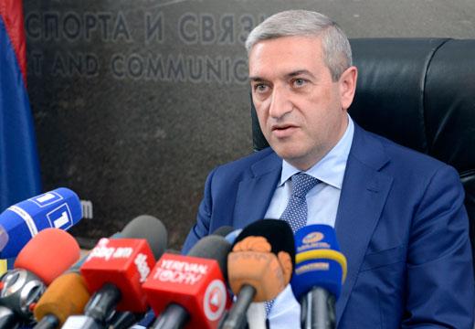 Վահան Մարտիրոսյան. մինչև մայիսի 15-20-ը ճանապարհների փոսային նորոգման աշխատանքները կավարտվեն