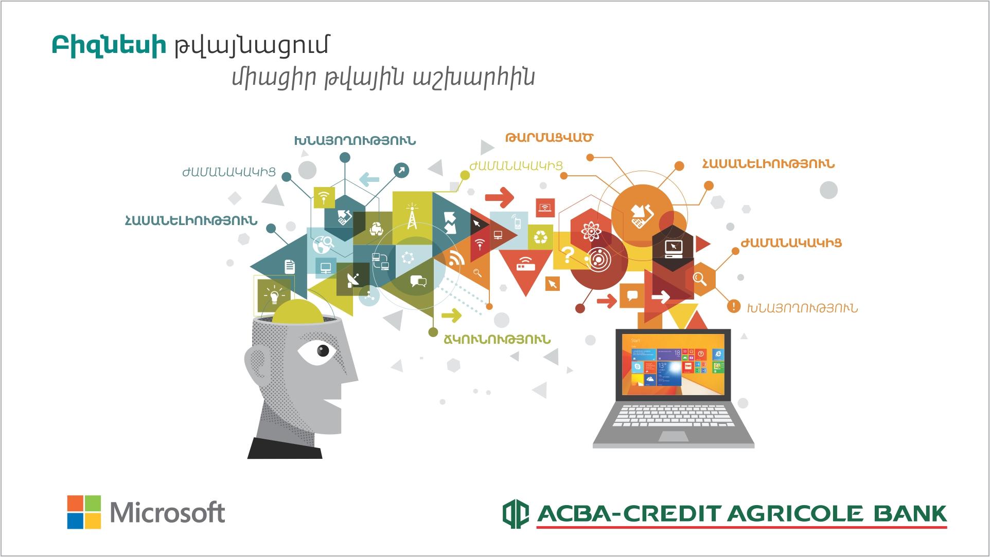 ԱԿԲԱ-ԿՐԵԴԻՏ ԱԳՐԻԿՈԼ ԲԱՆԿ. միացեք բիզնեսի թվային աշխարհին