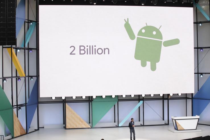 Android օպերացիոն համակարգից ամսական օգտվողների քանակն անցել է 2 միլիարդից
