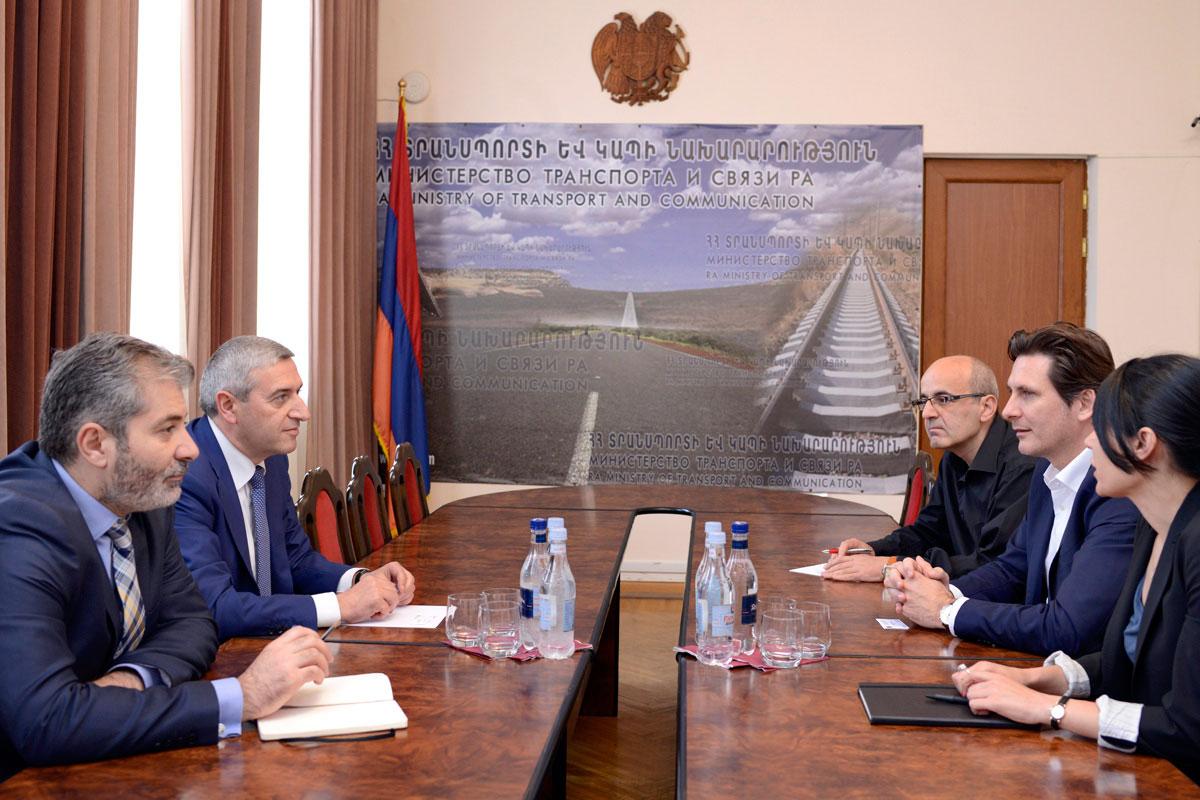 Վահան Մարտիրոսյանն ընդունել է Microsoft-ի ԱՊՀ տարածաշրջանային գրասենյակի ղեկավարին