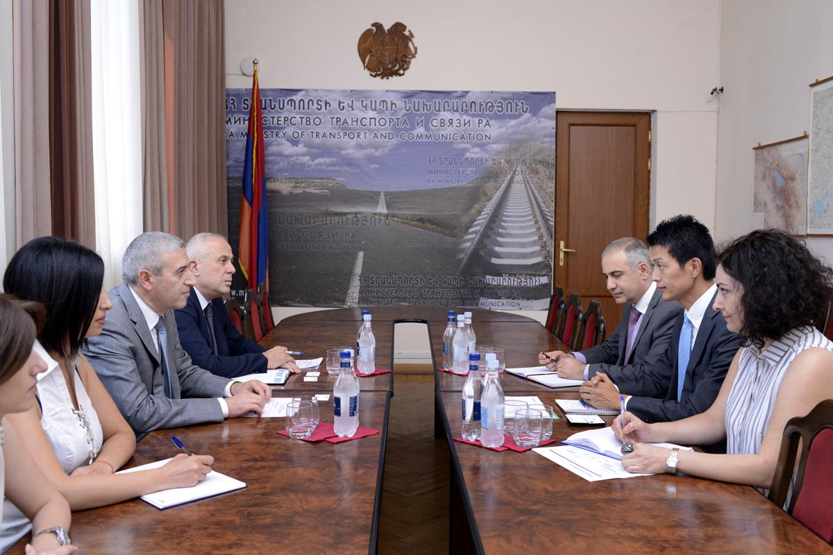 Վահան Մարտիրոսյանն ընդունել է Համաշխարհային բանկի ներկայացուցիչներին