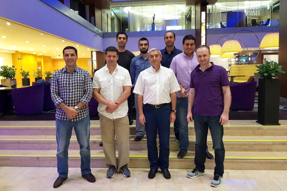 Վահան Մարտիրոսյանը Սեուլում հանդիպել է Samsung-ի հայազգի աշխատակիցների հետ