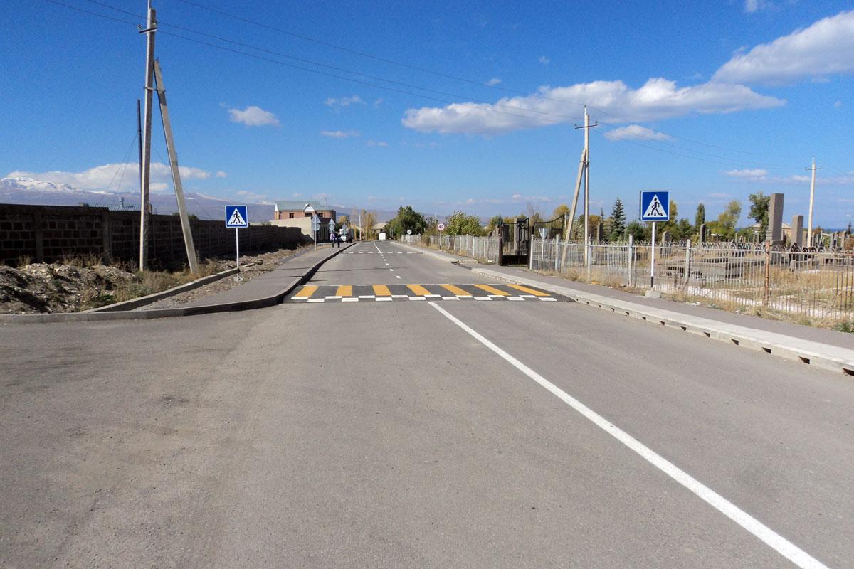 Վերականգնվել է Գեղարքունիքի մարզի մի շարք համայնքներ Մարտունի քաղաքին կապող հիմնական ավտոճանապարհը