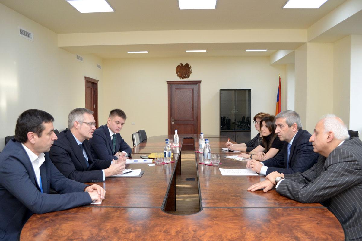 Վահան Մարտիրոսյանը ընդունել է NOKIA ընկերության ներկայացուցիչներին