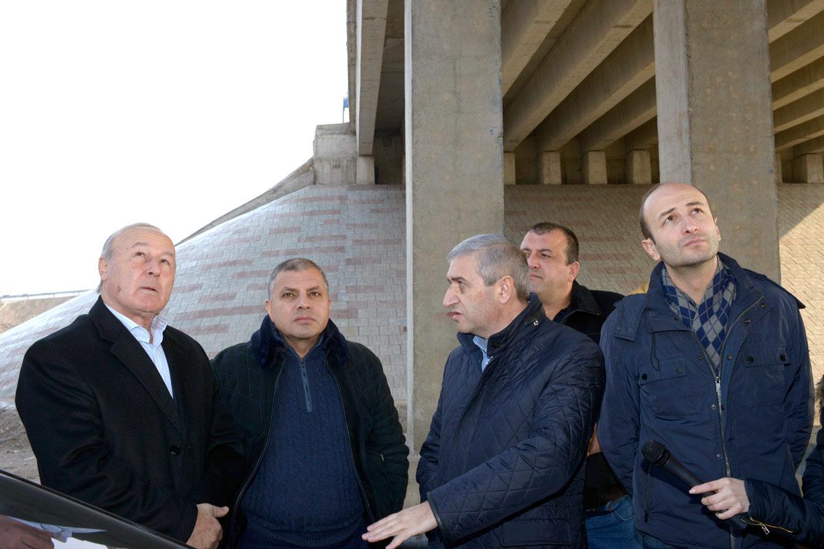 Երևան-Արտաշատ ճանապարհի 8 կամուրջների և ուղեանցերի շինարարությունն ավարտվել է