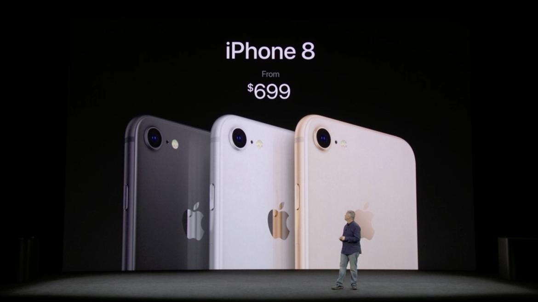 Պաշտոնապես ներկայացվել են iPhone 8 և iPhone 8 Plus սմարթֆոնները