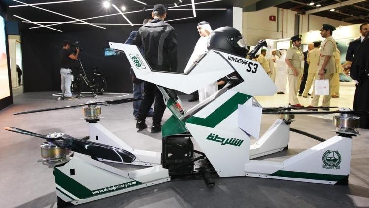 Դուբայի ոստիկանությունը թռչող մոտոցիկլետներ է փորձարկում