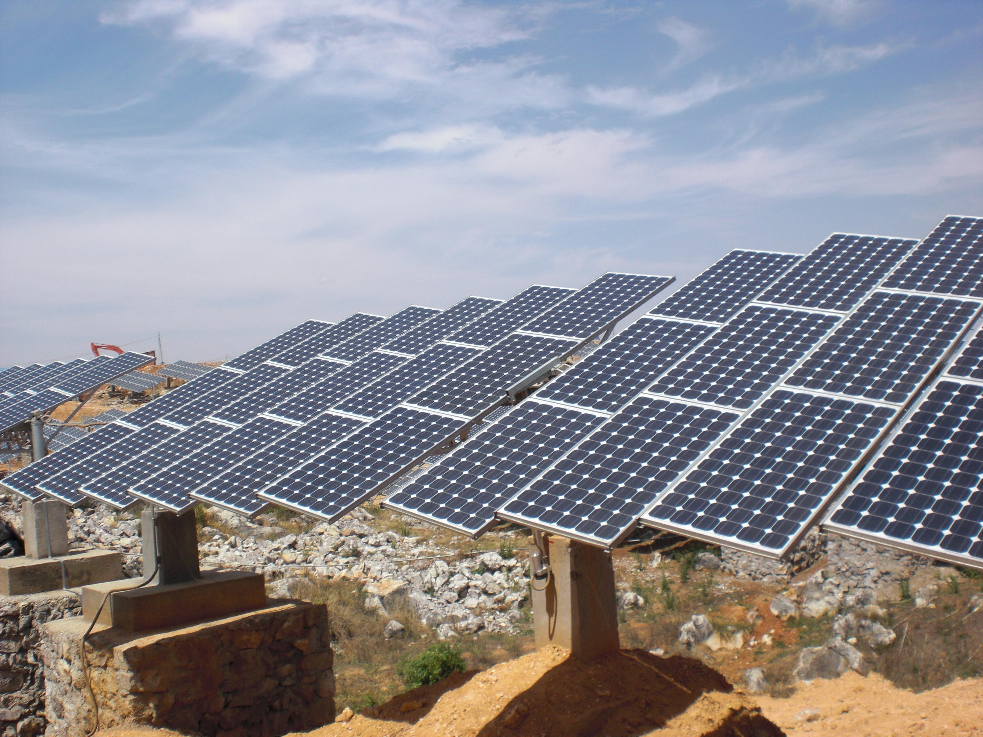 Հայաստանում նախատեսվում է կառուցել 400ՄՎտ հզորությամբ արևային ֆոտովոլտային կայաններ