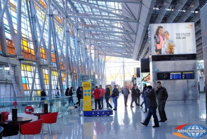 Հայաստանի օդանավակայաններում ուղևորահոսքն աճել է 28%-ով