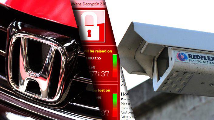 WannaCry կրիպտովիրուսի հերթական զոհերը՝ Honda ավտոկոնցեռն և Ավստրալիայի ճանապարհային տեսախցիկներ