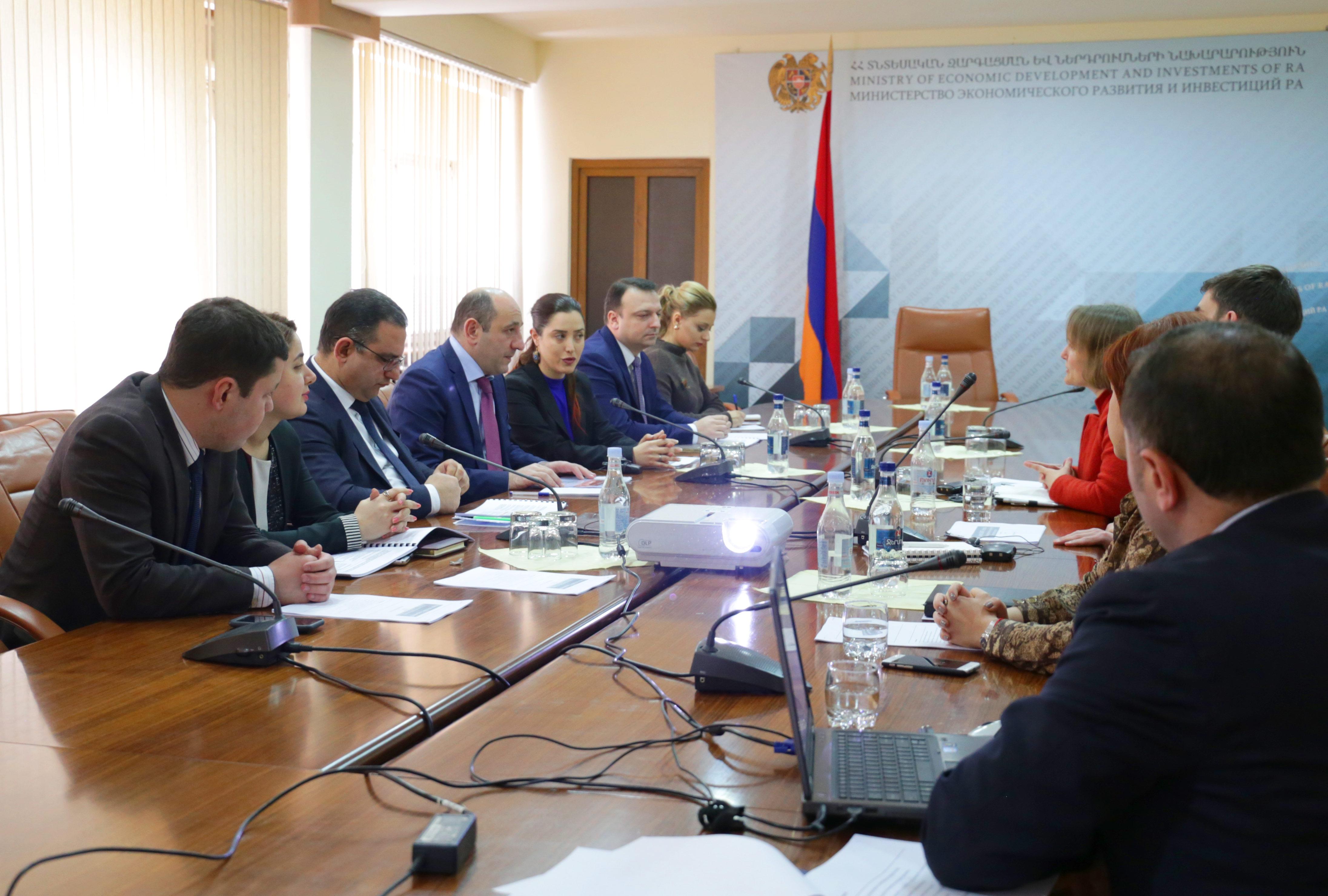 Սուրեն Կարայանին ներկայացվել է Հայաստանում նորարարության զարգացման նոր ռազմավարությունը