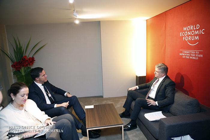 Հայաստանի և Նիդեռլանդների վարչապետները պայմանավորվել են ակտիվ համագործակցել գյուղատնտեսության ոլորտում