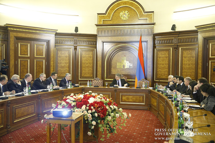 Կարեն Կարապետյանին զեկուցվել են պետական գույքի կառավարման ոլորտում կատարված աշխատանքները
