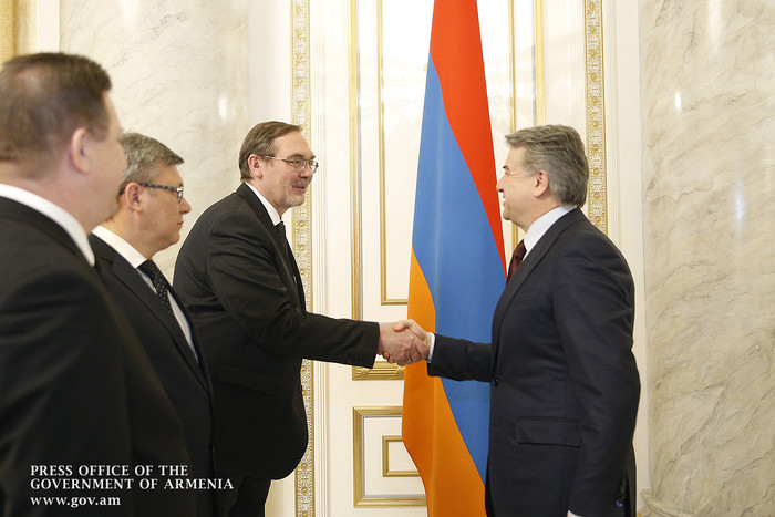 Կարեն Կարապետյանն ընդունել է Հայաստանում Ռուսաստանի դեսպանին