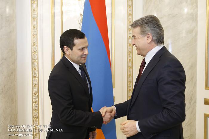 Կարեն Կարապետյանն ընդունել է Հայաստանում Թուրքմենստանի դեսպանին