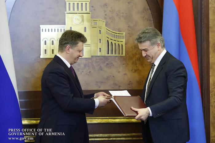 Կայացել է ՀՀ և ՌԴ միջև տնտեսական համագործակցության միջկառավարական հանձնաժողովի 18-րդ նիստը